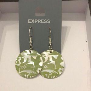 Express earrings